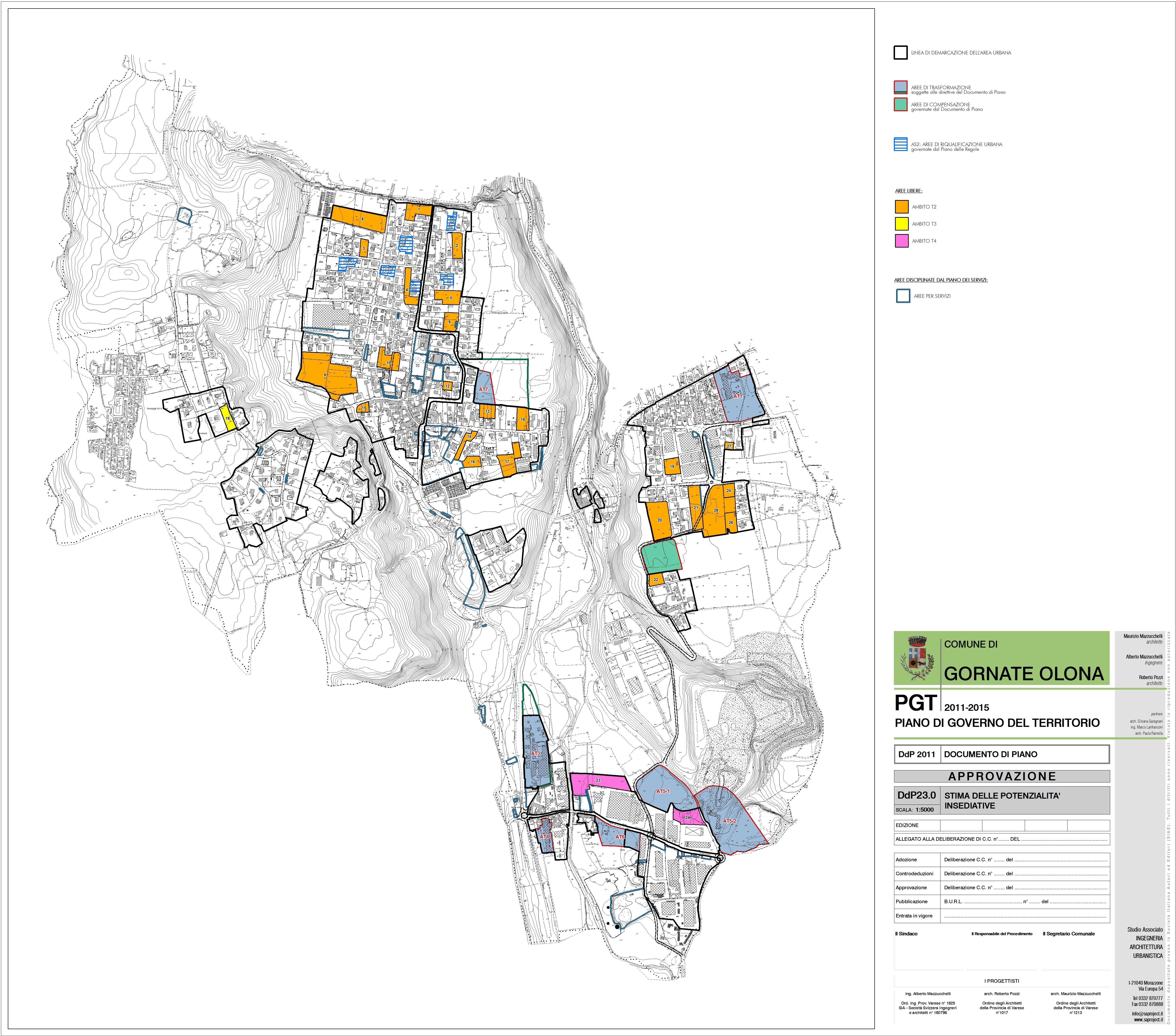 012080 piano di governo del territorio for Stima dei costi del piano